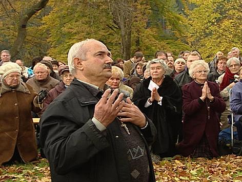 TV-Satire Braunschlag, Erscheinung auch in Bad St. Leonhard, Italienischer Seher Salvatore Caputo
