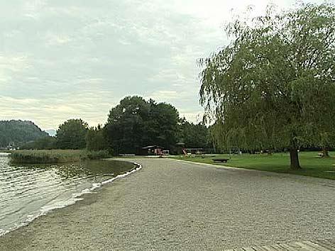 Paragleiter Strandbad Annenheim